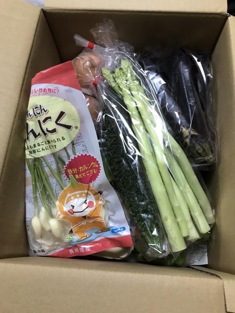 旬のお野菜+産みたて濃厚玉子6個の大満足セット